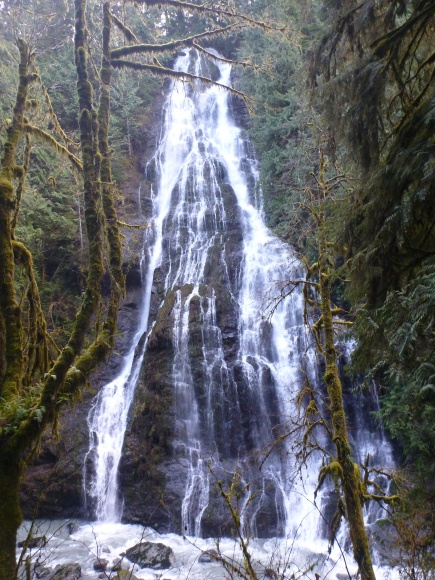 Boulder River Falls, digital photography, prices starting at $25.00