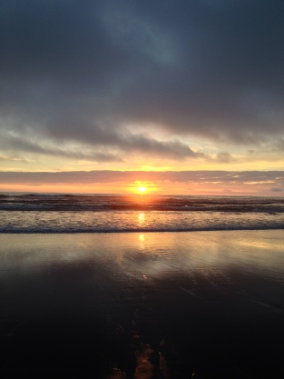 Long Beach, WA Sunset, digital photography, prices starting at $25.00