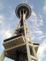 Space Needle, Seattle, WA, digital photography, prices starting at $25.00