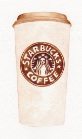 Starbucks, coffee, **SOLD**