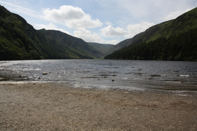 Upper Lake, Glendalough Valley, Wicklow Mountains National Park, Ireland