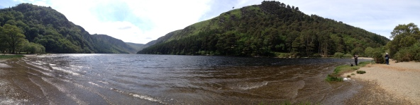Upper Lake, Glendalough Valley, Wicklow National Park, Ireland