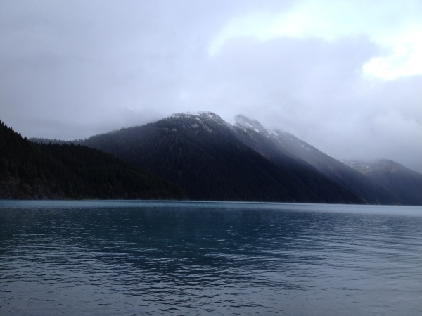 A light snow dusting over Panorama Ridge and Garibaldi Lake, Garibaldi Provincial Park, BC, Canada