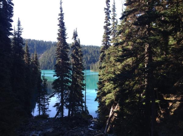Lesser Garibaldi Lake, Garibaldi Provincial Park, BC, Canda